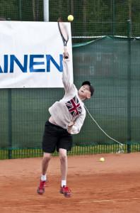 P14 voittaja Samuel Kettunen.